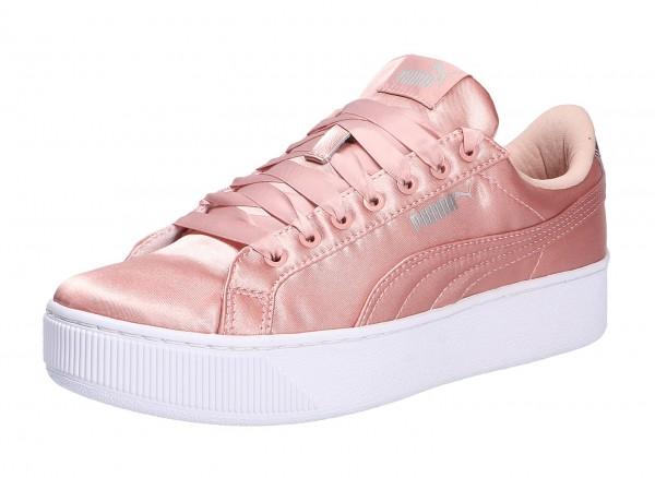 Puma Sneaker rot Vikky Platform EP Synthetik Damen Schuhe