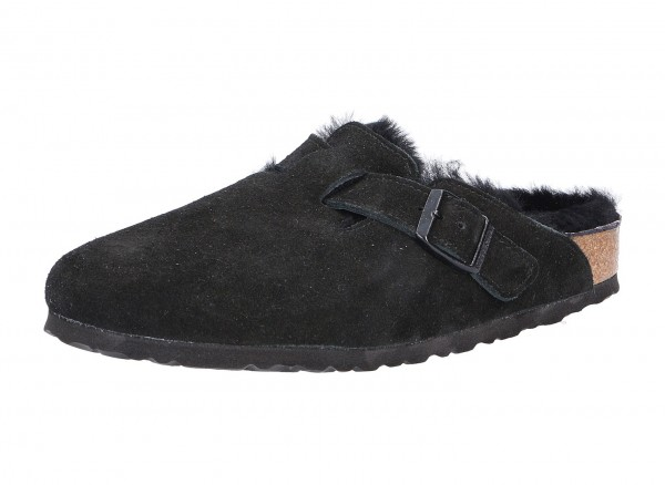Birkenstock Boston FUR VL Black